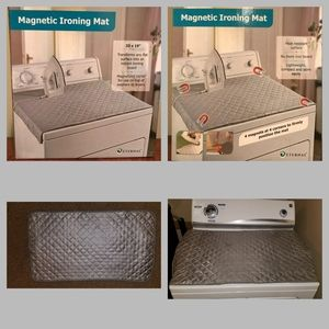 Magnetic ironing pad